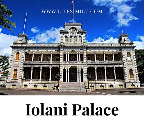 Iolani Palace Hawaii Honolulu History Tour