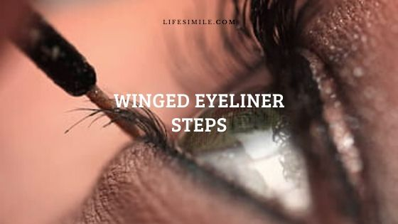 Winged Eyeliner Steps : Make-up Hack for Cuties