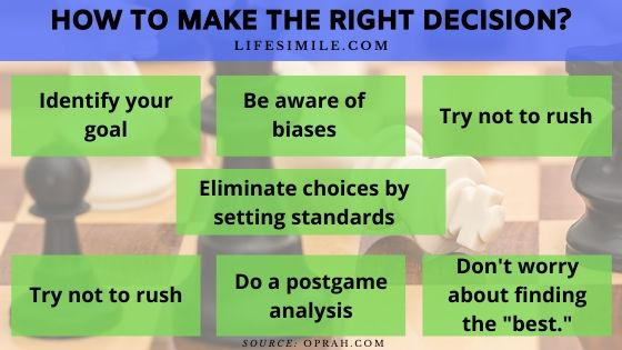 Making the Right Decision Depends on Right Action