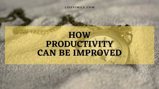 productivity can be improved by