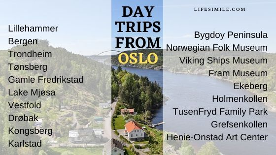 day trips from oslo, oslo day trips