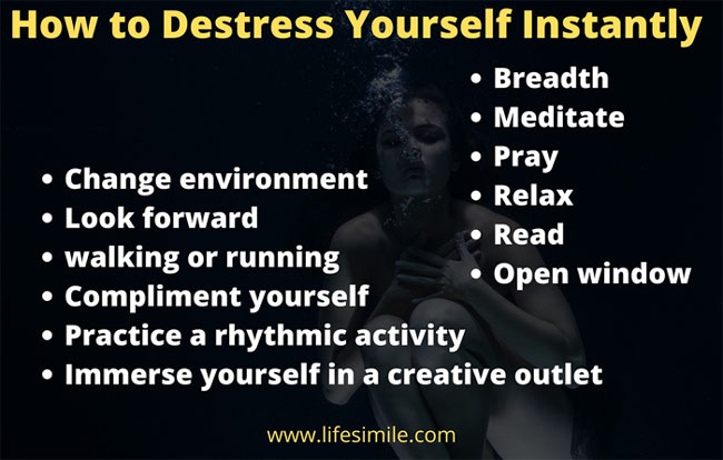 32 Steps on How to Destress Yourself Instantly