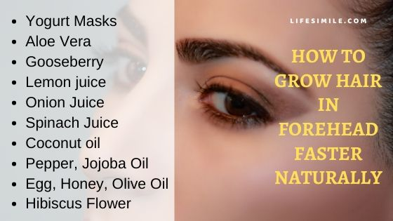 10 Ways on How to Grow Hair in Forehead Faster Naturally