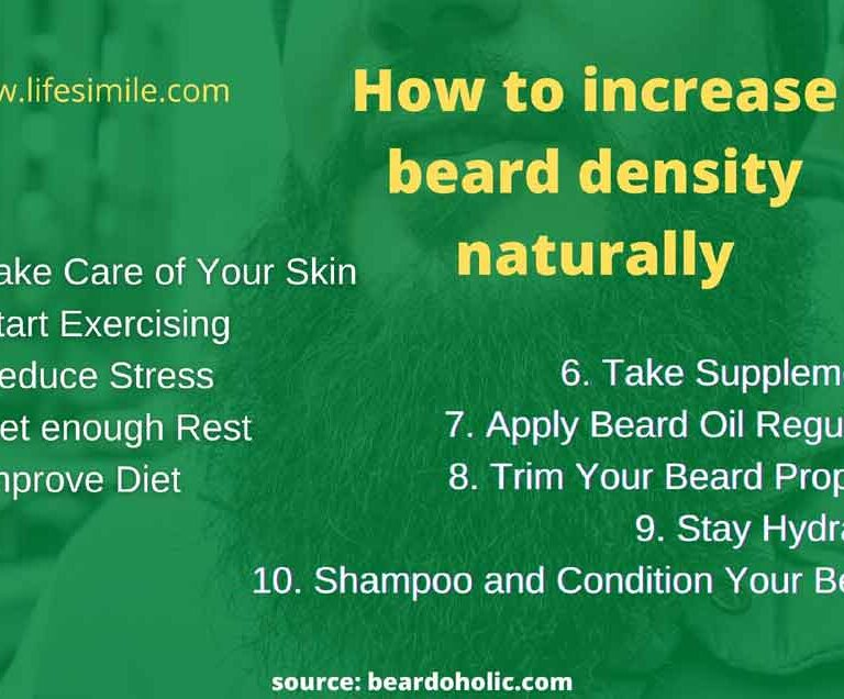 How to Increase Beard Density Naturally