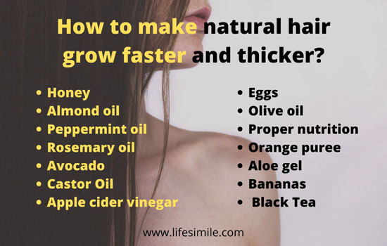 37 How to Make Natural Hair Grow Faster and Thicker