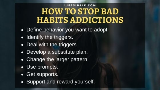 17 Steps on How to Stop Bad Habits Addictions
