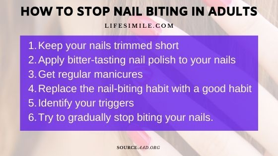 14 Easy Tips on How to Stop Nail Biting in Adults