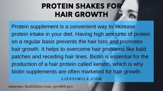 Protein Shakes for Hair Growth – Apply | Pros | Cons