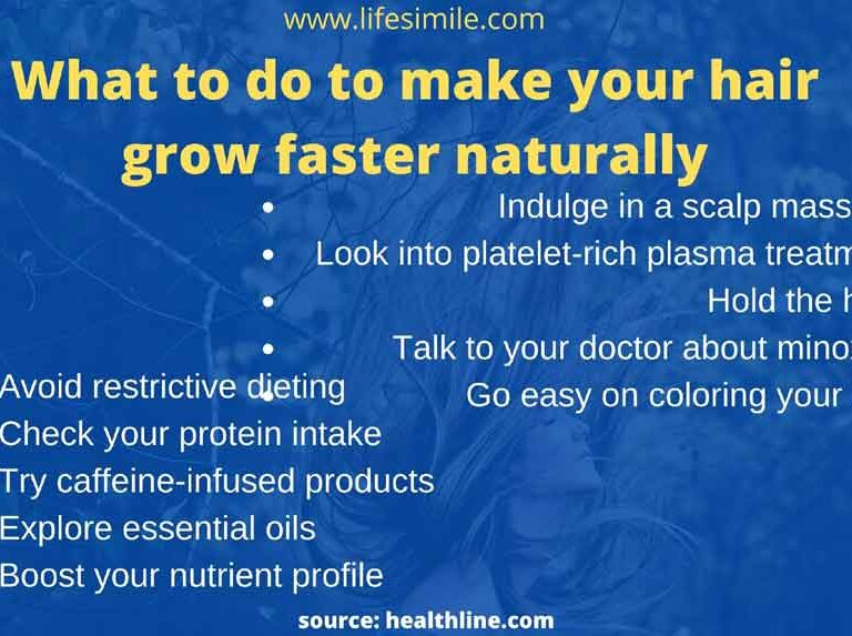 What to Do to Make Your Hair Grow Faster Naturally?