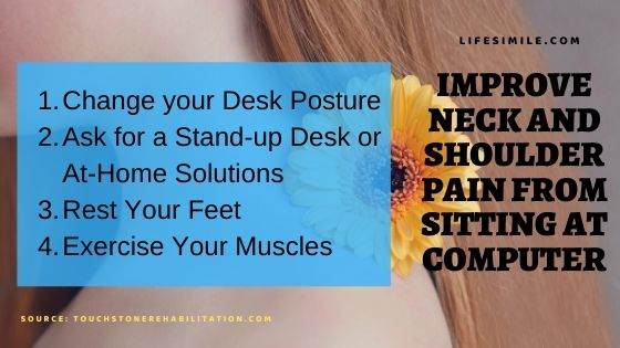 10 Solutions : Neck and Shoulder Pain from Sitting at Computer