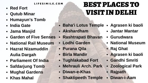 35 Best Places to Visit in Delhi – Complete Travel List