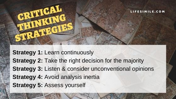 14 Critical Thinking Strategies for Challenge Takers