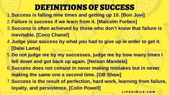 43 Definitions of Success to Completely Change Life