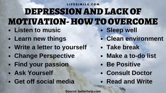 10 Remedies Against Depression and Lack of Motivation