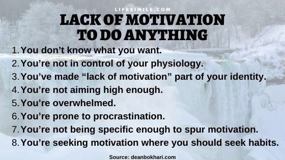 10 Ways to Overcome Lack of Motivation to Do Anything