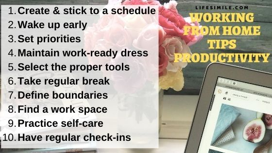24 Working from Home Tips to Boost Productivity