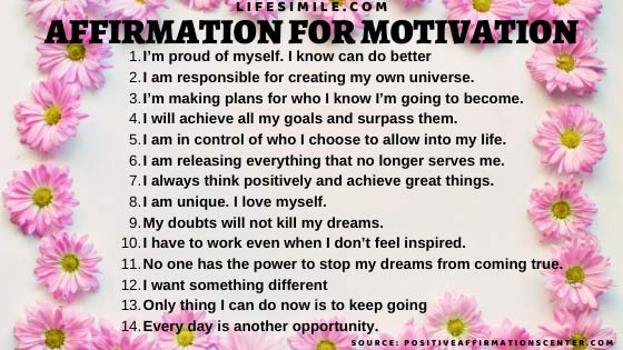11 Ways to Apply Realistic Affirmation for Motivation