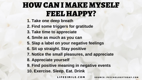 11 Steps- How Can I Make Myself Feel Happy Everyday, Always