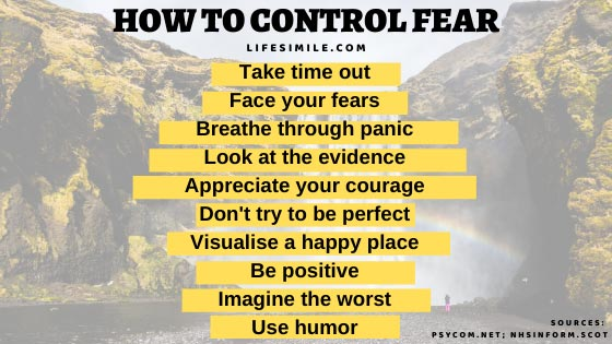 10 Steps on How to Control Fear and Anxiety