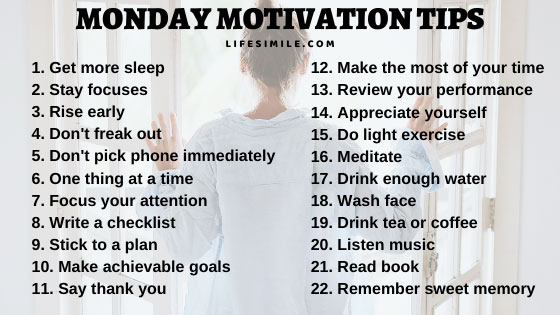 10 Monday Motivation Tips to Turn a Successful Week
