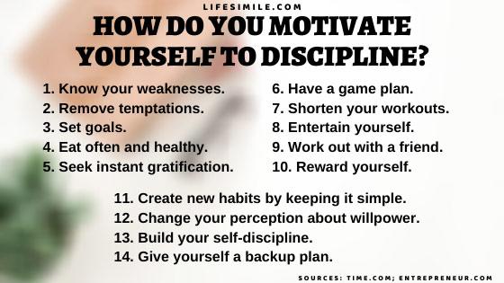 11 Self Discipline Tricks to Boost Up Motivation