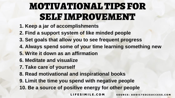 5 Self Improvement and Motivation Tricks and Tips