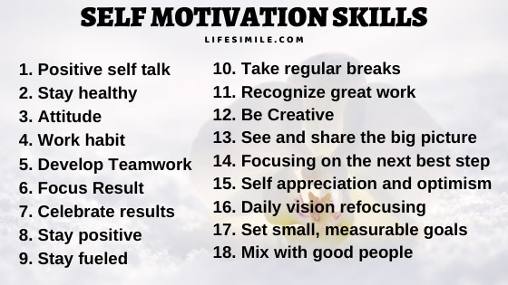 8 Self Motivation Skills You Can Adopt Easily