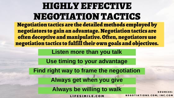 5 Steps for a Tactical Negotiation that Lead a Win